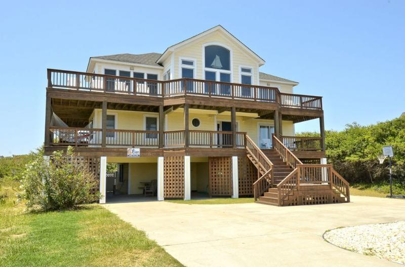 Front Elevation - 85 Ocean Blvd - Southern Shores - rentals