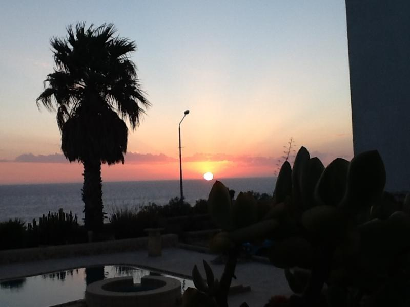 Welcome sunrise....this is what guest will see every summer morning from the pool area. - Seaview - Madliena - rentals