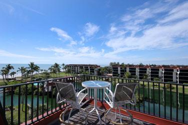 ROOF DECK - Pointe Santo D46 - Sanibel Island - rentals