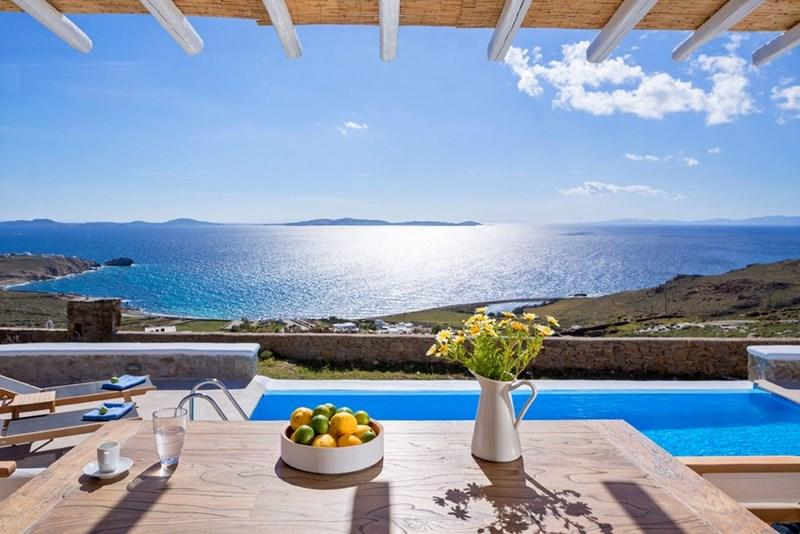 Blue Villas | Pasiphae I | Breathtaking Views - Image 1 - Mykonos Town - rentals
