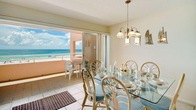 Dining Room - Coquina Beach Club 202 - Bradenton Beach - rentals