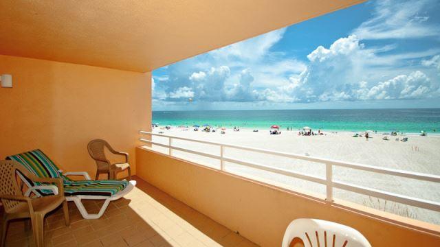 Spacious open air balcony...feel the salt air! - Coquina Beach Club - Bradenton Beach - rentals
