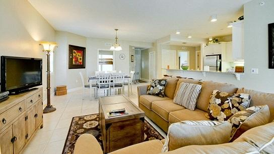 Livingroom area - Bradenton Beach Club - Bradenton Beach - rentals