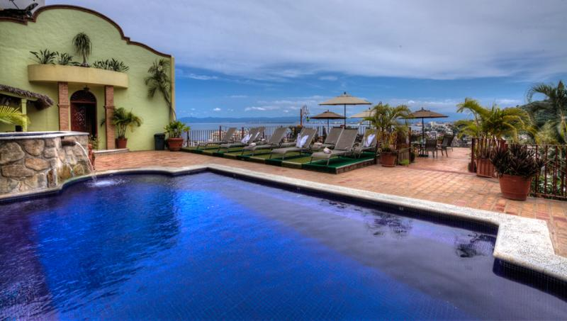 Glorious Vista from Pool Deck - Villa Savana 5 -15 Room Villa in Puerto Vallarta - Puerto Vallarta - rentals