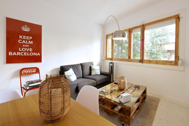 Living Room - White Flat GE2 - Barcelona - rentals