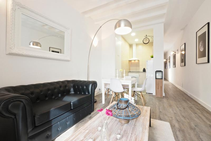 Living Room - White Flat B41 - Barcelona - rentals