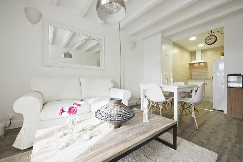 Living Room - White Flat B51 - Barcelona - rentals