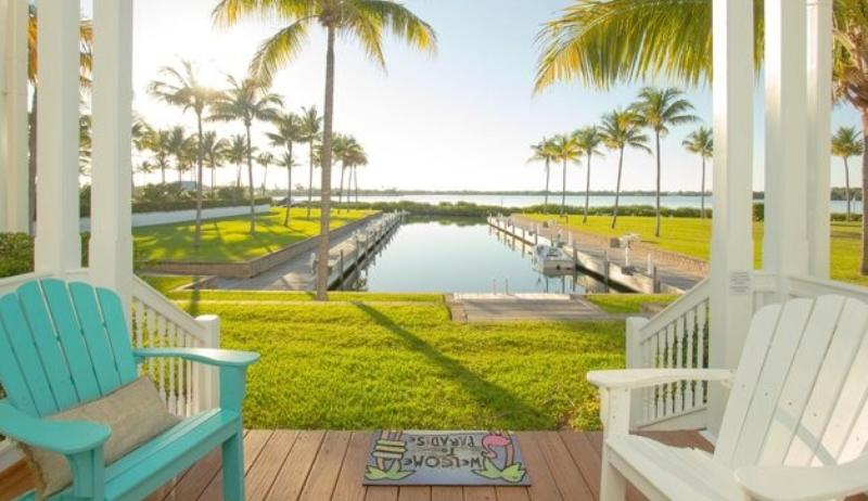 Waterfront luxury Villa (43) with spectacular sunset views and boat slip - Image 1 - Marathon - rentals