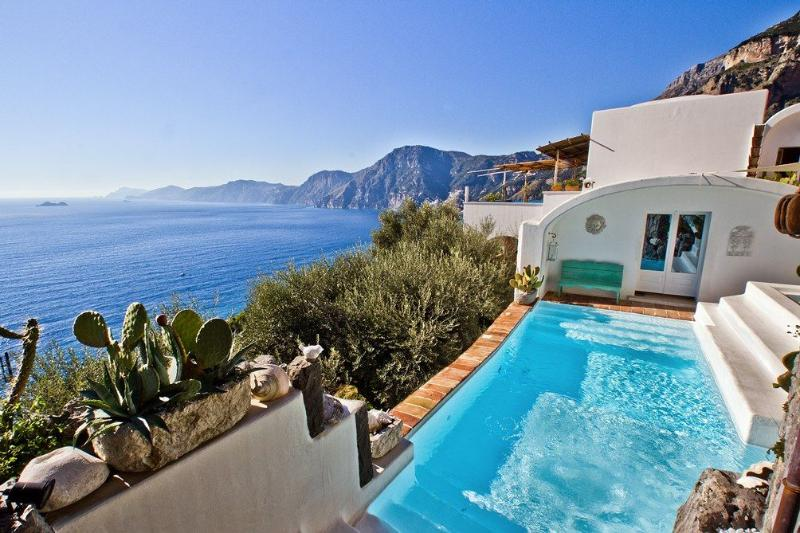 Amazing luxury villa with pool - V707 - Image 1 - Praiano - rentals
