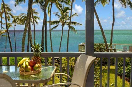 Lanai on Poipu Palms 102 - Poipu Palms 102 Exquisitely decorated oceanfront 2 bed/2 bath condo in a small complex. Free car with stays 7 nts or more* - Poipu - rentals