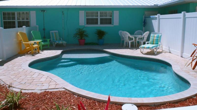 Brand New Heated Pool! - Escape to Serenity B: 2BR Pet-Friendly Pool Home - Holmes Beach - rentals