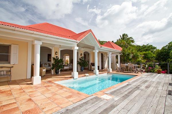 Flamands hillside villa with elegant décor & peaceful surf sounds	\ WV HBV - Image 1 - Flamands - rentals