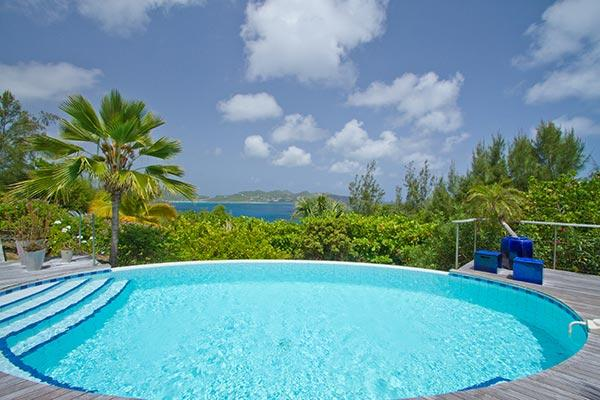 Perfect for entertaining - 270-degree view of sunrises & sunsets WV LEA - Image 1 - Saint Barthelemy - rentals