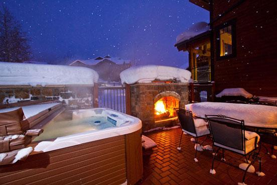 Bear Lodge Private Patio - 6105 - 6105 Bear Lodge, Trappeurs - Steamboat Springs - rentals