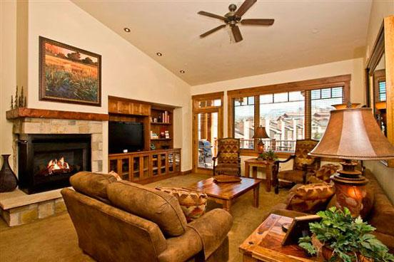 Emerald Lodge Living Room 2 - 5305 - 5305 Emerald Lodge, Trappeurs - Steamboat Springs - rentals