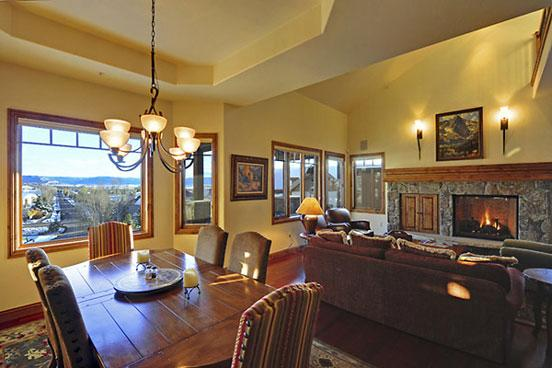 Aspen Crest Dining area - 1465 Aspen Crest - Steamboat Springs - rentals
