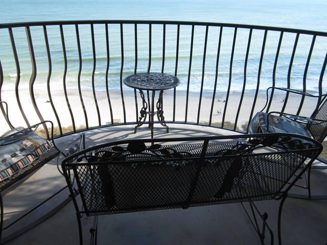 Breathtaking views from your Oceanfront Balcony - Palms 1205 Beautiful One Bedroom Oceanfront Condo - Myrtle Beach - rentals