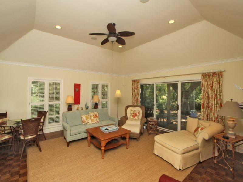 Living Room at 39 Woodbine Place - 39 Woodbine Place - Sea Pines - rentals