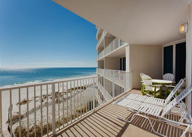 Balcony West View - Lighthouse 515 - Any 7 Nights $899 Total - Month of December - Gulf Shores - rentals