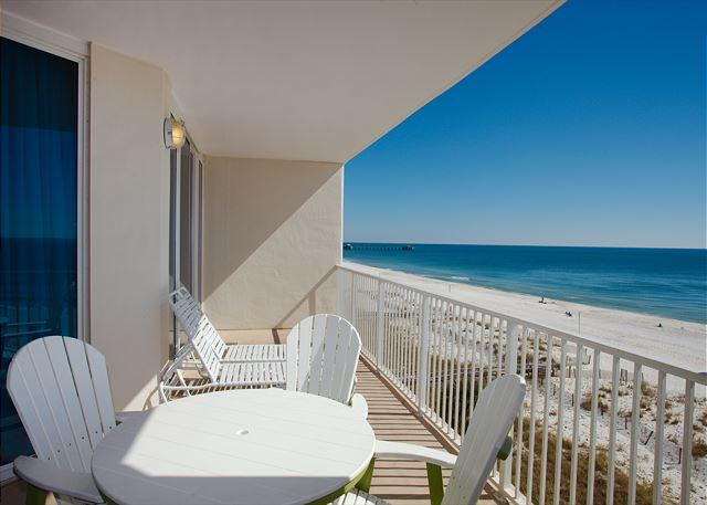 Balcony East View - Lighthouse 515 *FAMILY BARGAINS* OPEN DATES 4/8 TO 5/18 - Gulf Shores - rentals