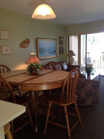 Living Room/Dining Room - Well appointed-Walk to Island Restaurants and Shops - Marco Island - rentals