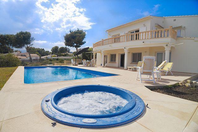 5 bedroom Villa in Moraira, Alicante, Costa Blanca, Spain : ref 2239885 - Image 1 - La Llobella - rentals