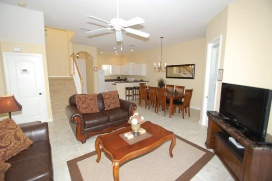 4 Bedroom Pool Home Close To All The Attractions. 842BD - Image 1 - Orlando - rentals