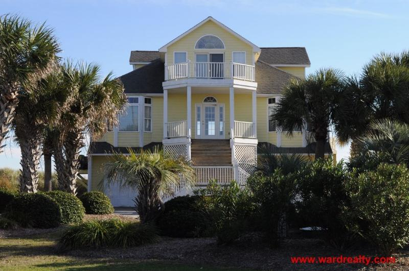 Streetside Exterior - Carolina Palms - North Topsail Beach - rentals