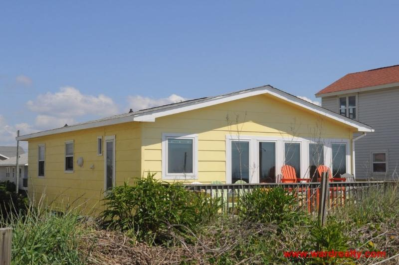 Oceanfront Exterior - Rhyne-O - Surf City - rentals