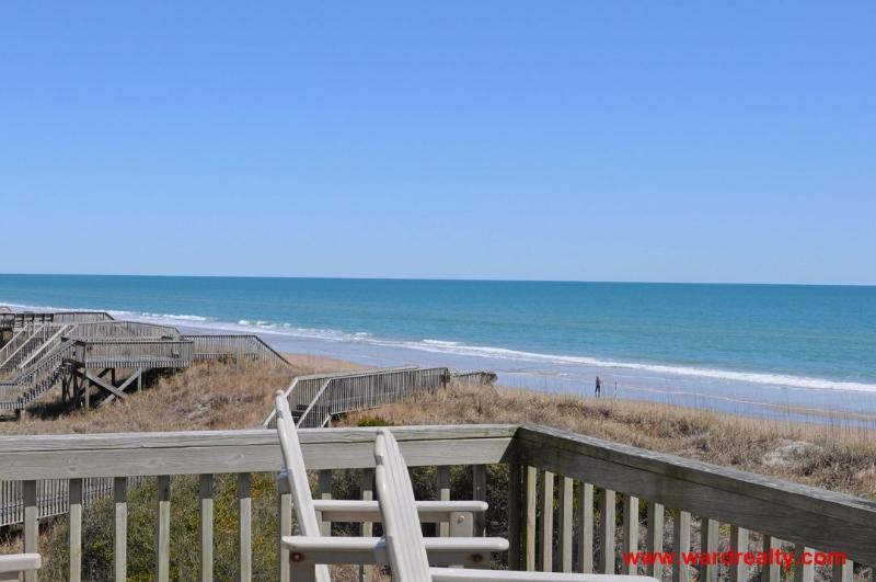 North View from Top Deck - Angel's Nest - formerly Virtual Reality - Surf City - rentals