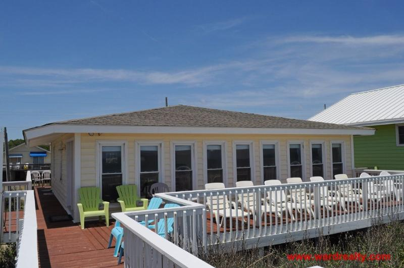 Oceanfront Exterior - Andrews - Surf City - rentals