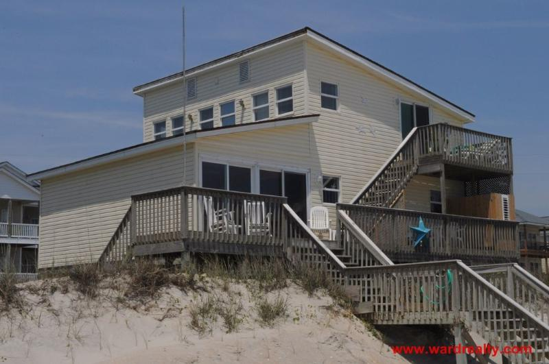 Island Time Oceanfront Exterior - Island Time - Surf City - rentals