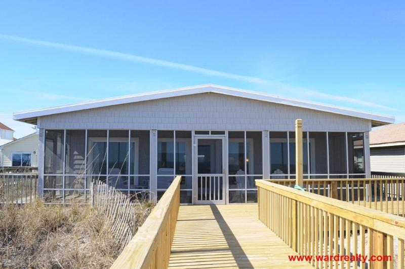 Oceanfront Exterior  - Sea Fever - Surf City - rentals