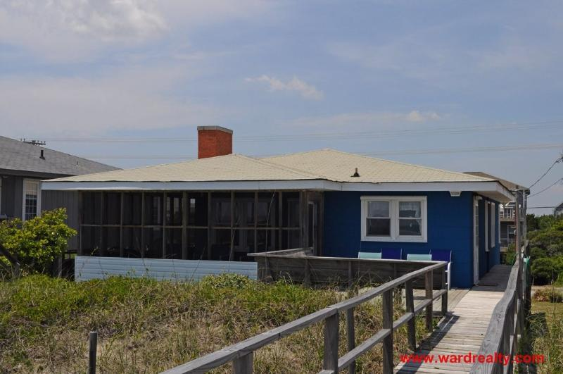 Oceanfront Exterior - Beach Haven - Topsail Beach - rentals