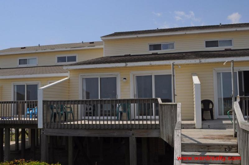 Oceanfront Exterior - 2980 Yacht Tender - North Topsail Beach - rentals