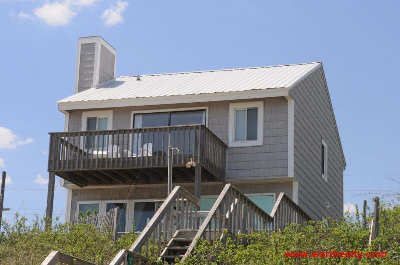 Oceanfront Exterior - Topsail Turvy II - Surf City - rentals
