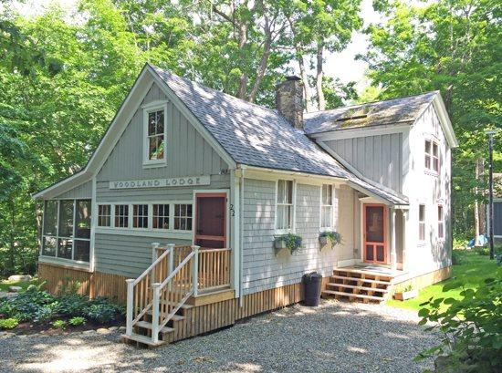 The Woodland Lodge on West Street in Bayside - WOODLAND LODGE - Town of Northport - Bayside Village - Northport - rentals