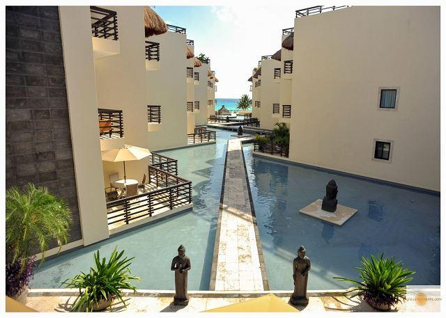 Reflecting Pool View TRENDY APARTMENT  steps from the best Mamitas Beach Area - Image 1 - Playa del Carmen - rentals