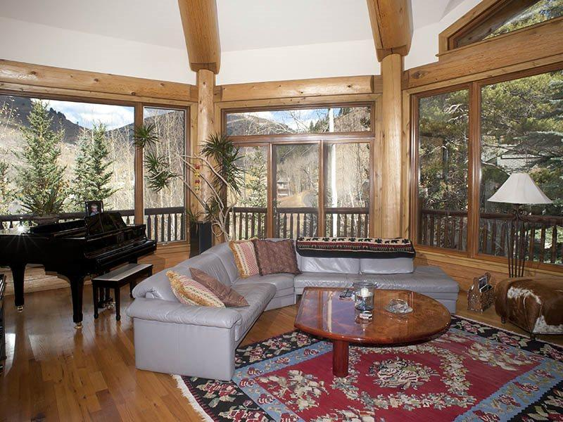 From this beautiful vacation home, you`ll especially enjoy the wrap-around deck and panoramic views. - Image 1 - Vail - rentals