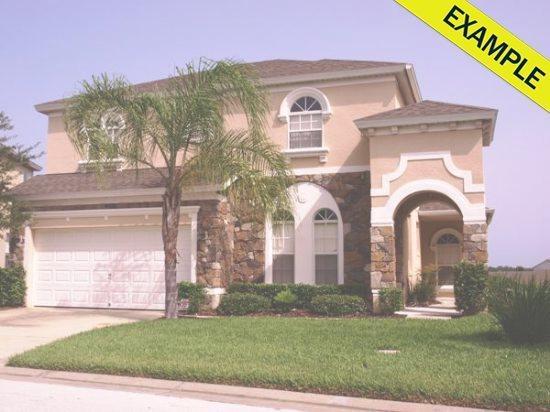 6 Bedroom Best Value Vacation Home - 5BH-11 Generic Best Value Homes in Orlando Florida: 6 Bedroom BEST VALUE - Orlando - rentals