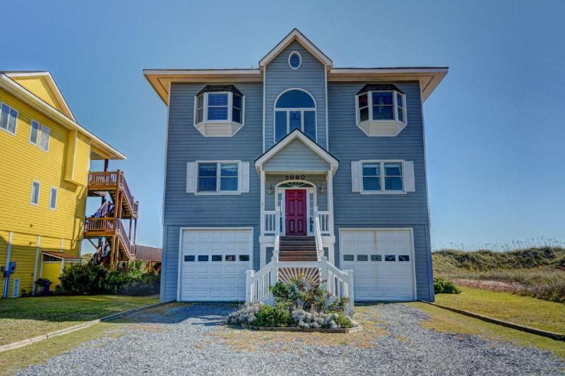 3060 Island Dr - Island Drive 3060 Oceanfront! | Fireplace, Internet - North Topsail Beach - rentals