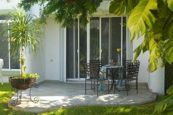 Playa del Carmen vacation rentals - back terrace - Villa Mayamar Rose - Villa Mayamar Rose - Playa del Carmen - rentals
