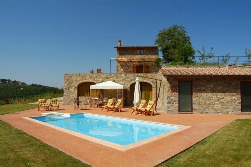 Villa il Roseto - Image 1 - Gaiole in Chianti - rentals