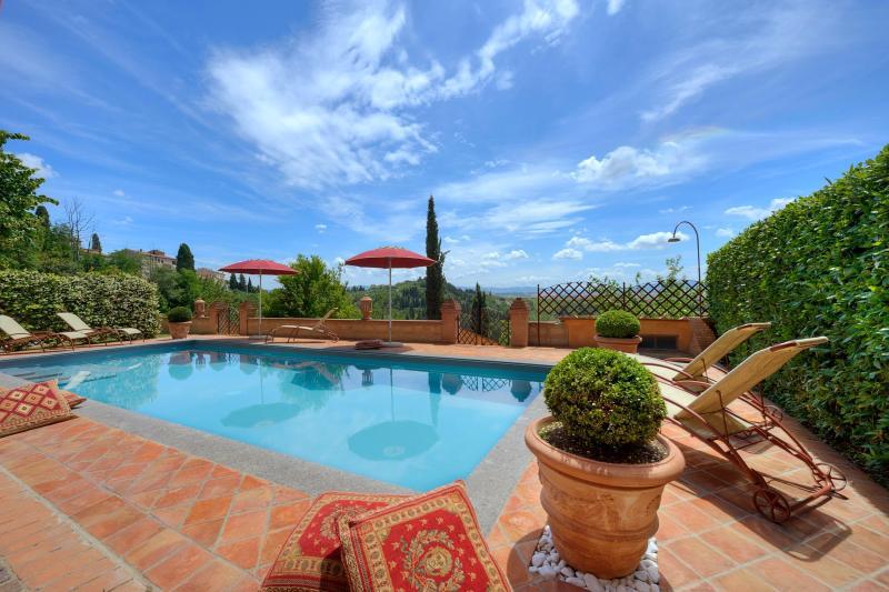 5 bedroom Villa in Peccioli, San Gimignano, Volterra and surroundings, Tuscany, Italy : ref 2293930 - Image 1 - Fabbrica di Peccioli - rentals