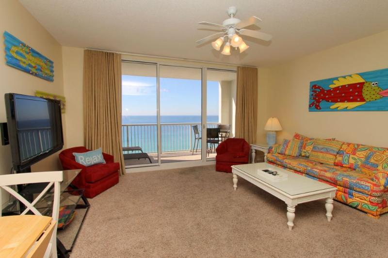 Beachy Decor - Relax and Enjoy the View - Majestic Beach Resort T1 Unit 1605 - Panama City Beach - rentals