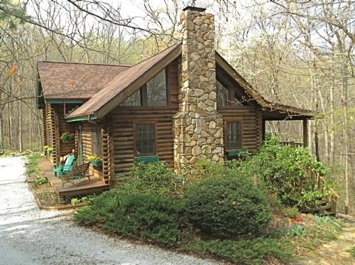 Laurel Cove Cabin ~ Exterior - Laurel Cove Cabin - Swannanoa - rentals