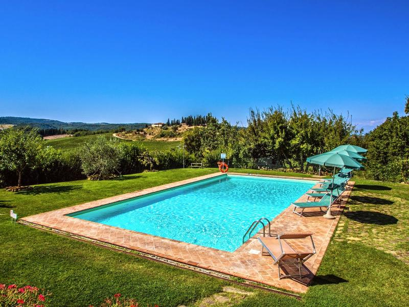 4 bedroom Villa in San Gimignano, San Gimignano, Volterra And Surroundings - Image 1 - Pancole - rentals