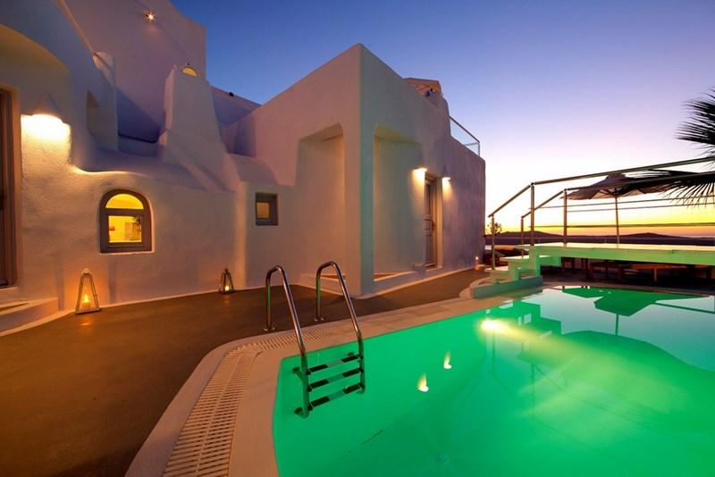 Pool - Blue Villas | Rosa |Beautiful Caldera View - Firostefani - rentals