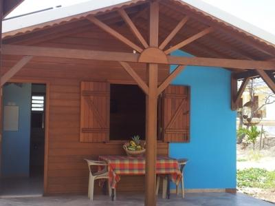 4-1BR Creole Style Red Wood Bungalows Close to Sea - Image 1 - Saint-François - rentals
