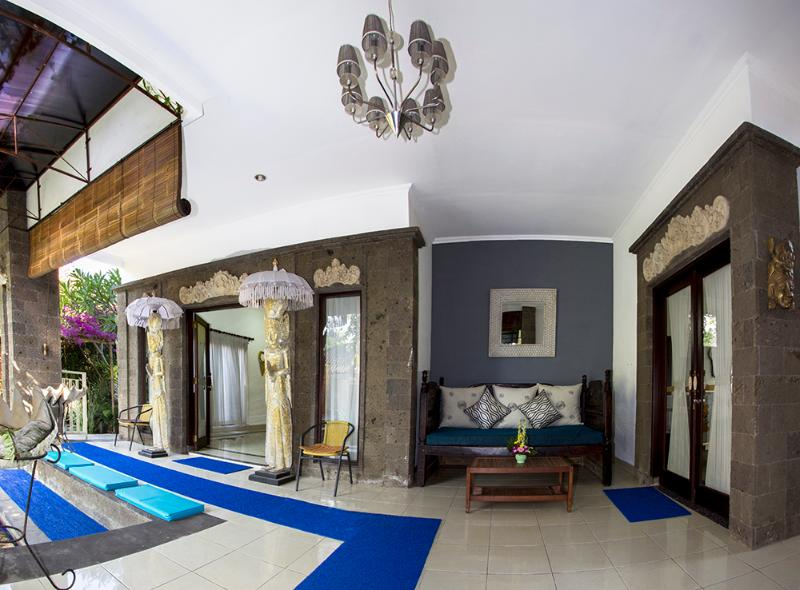 Foyer area outside of Bedrooms 1 & 2 - WOW!!!Luxury FAMILY  VILLA . POOL FENCE. YES or NO - Sanur - rentals